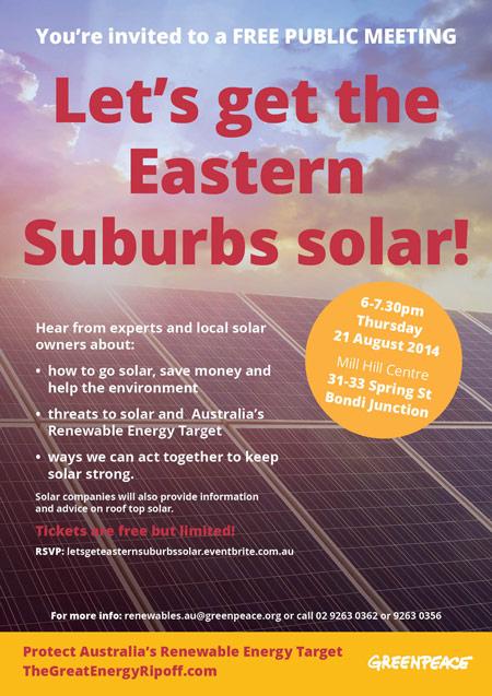 Eastern Suburbs Solar Flyer2sm